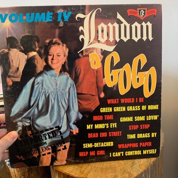 VINTAGE / Record / London a GoGo